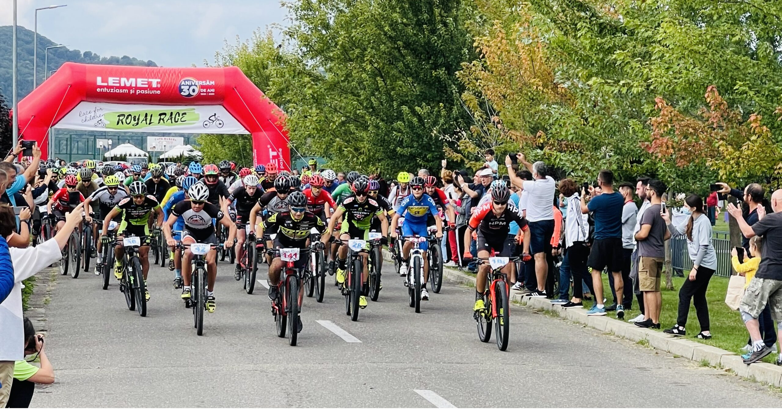 Competiţia de ciclism Royal Race Câmpina